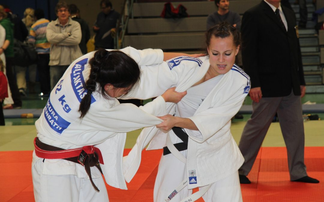 Junge Judoka-Damen am Start