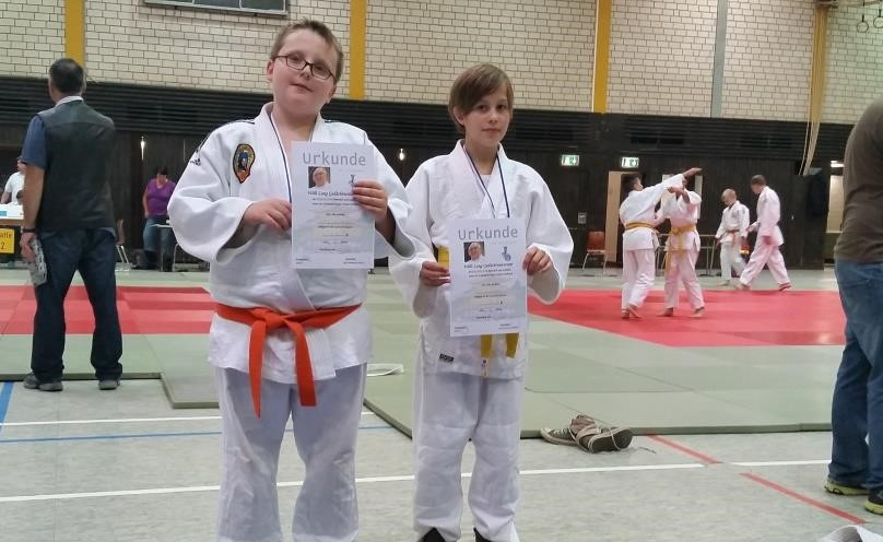 Judokas sammeln Erfahrung