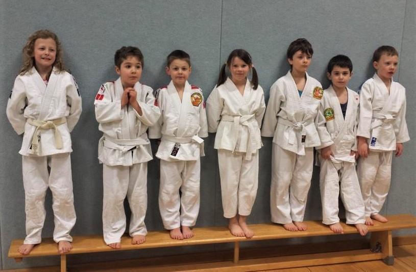 Judo-Prüfung beim BTSC