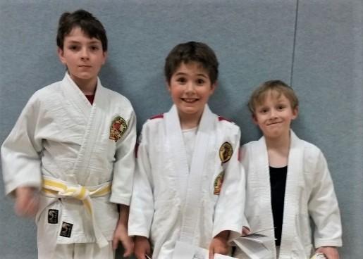 Neue Gürtel für BTSC Judokas