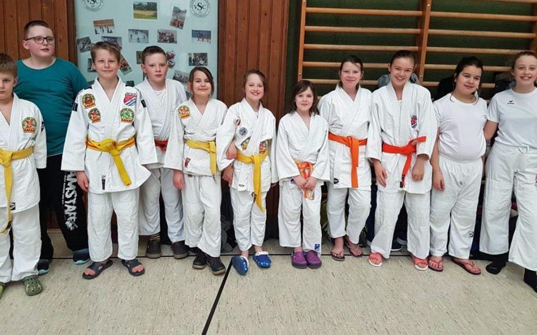 4 BTSC-Judokas für Bezirk qualifiziert