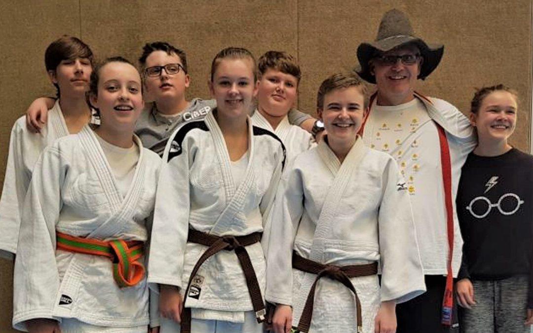 5 Judokas des BTSC fahren zum Bezirk