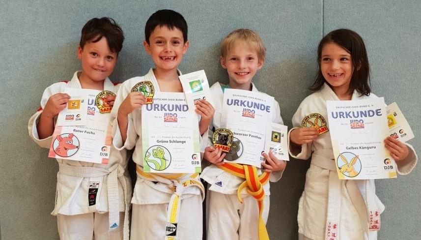 Judosafari und Generationen-Turnier