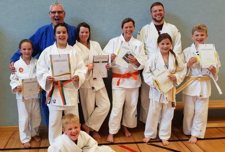 Judo – Gürtelprüfung