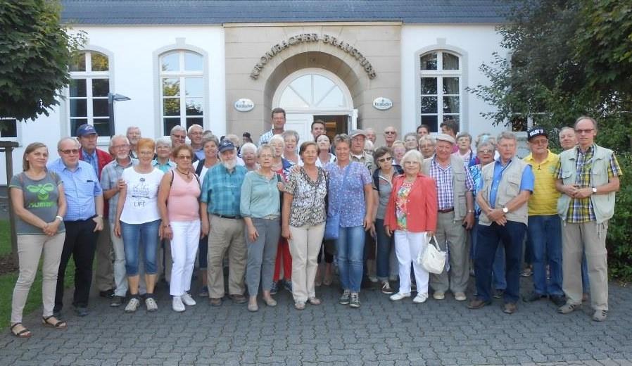 """Tour-Motto """"Kultur und Bier"""""""