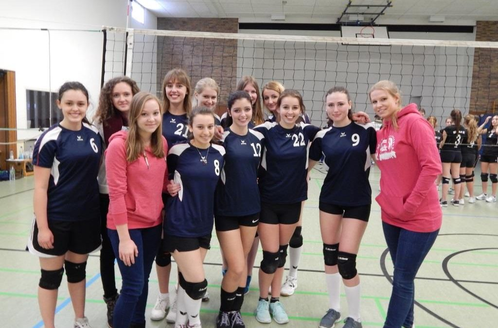 BTSC Volleyballerinnen auf Platz 1