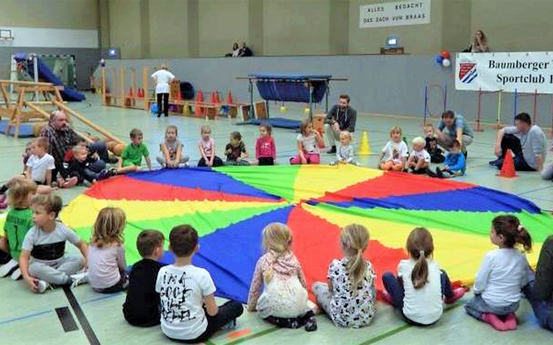 Kinderolympiade: Volles Haus!
