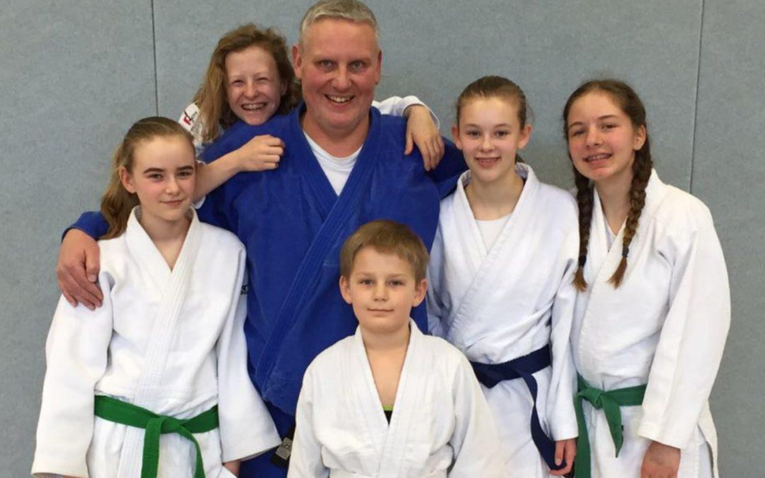 Judo – Baumberger machen Blau
