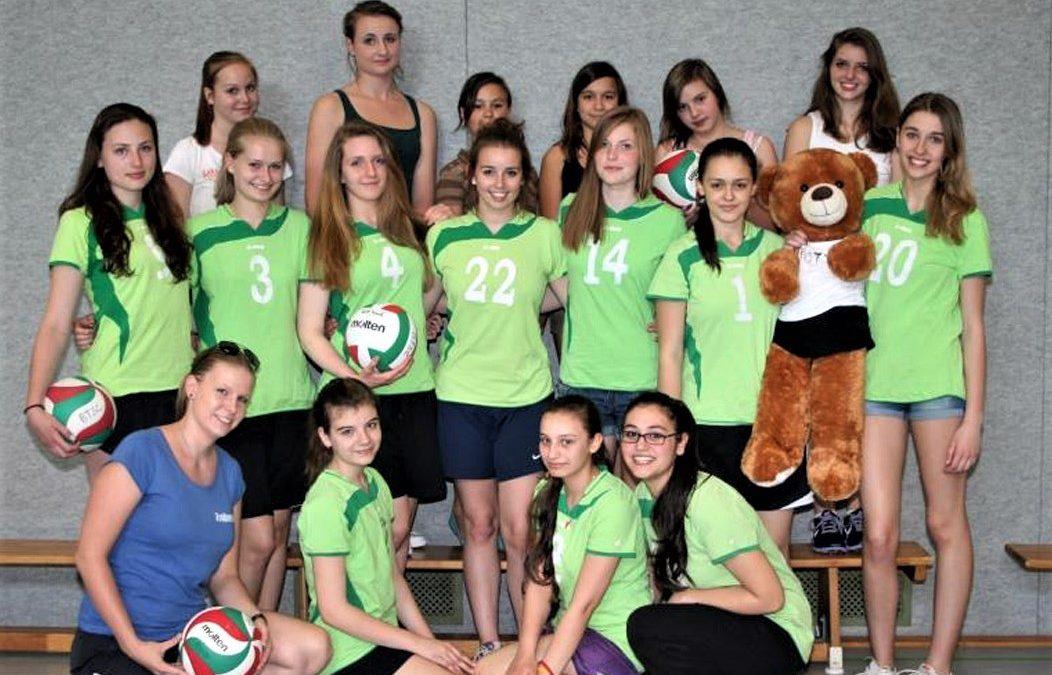 BTSC-Volleyballerinnen Bezirksmeister