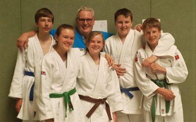 Letztes Judo-Turnier vor den Ferien