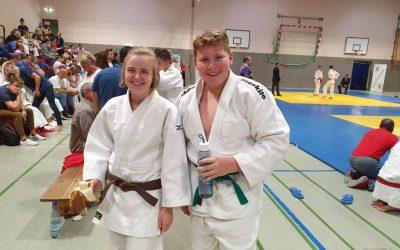 Zweimal Platz 1 für die Judokas