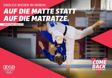 Judo – Training und Wiederanfang